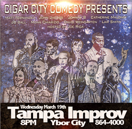Cigar City Comedy Presents: Crumpled Napkin