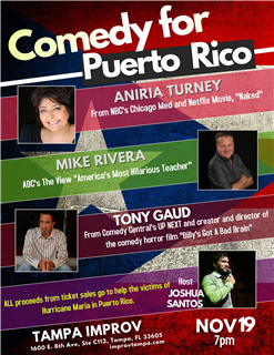 Comedy for Puerto Rico