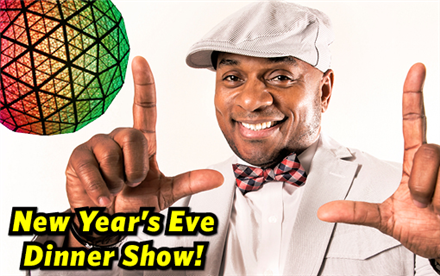 New Year's Eve Dinner Show with Godfrey