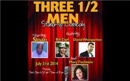 Three ½ Men Show