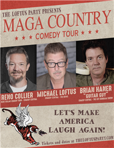 VIP Seating The MAGA Country Comedy Tour