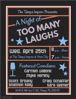 A Night of Too Many Laughs