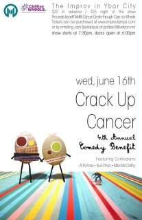 10th Annual Crack-Up Cancer Comedy Benefit
