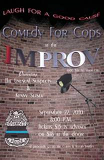 Comedy for Cops featuring The Unusual Suspects & Kenny Setser