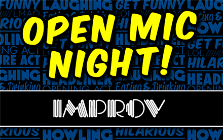 Open Mic Night @ Improv Bar Stage