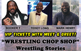 VIP Seating The Wrestling Chop Shop Wrestling Stories