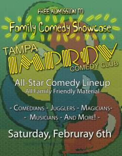 Improv Family Comedy Showcase